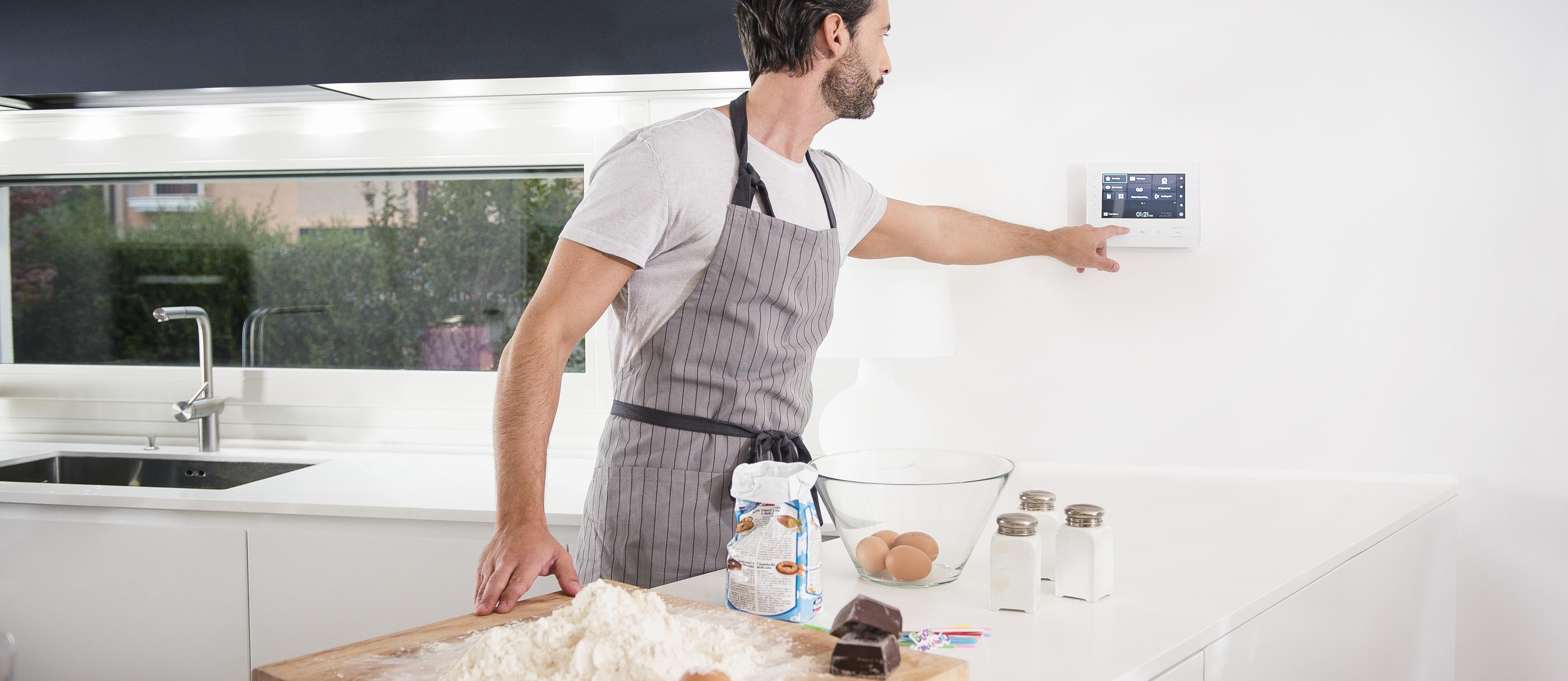 Управление абонентским устройством видеодомофона