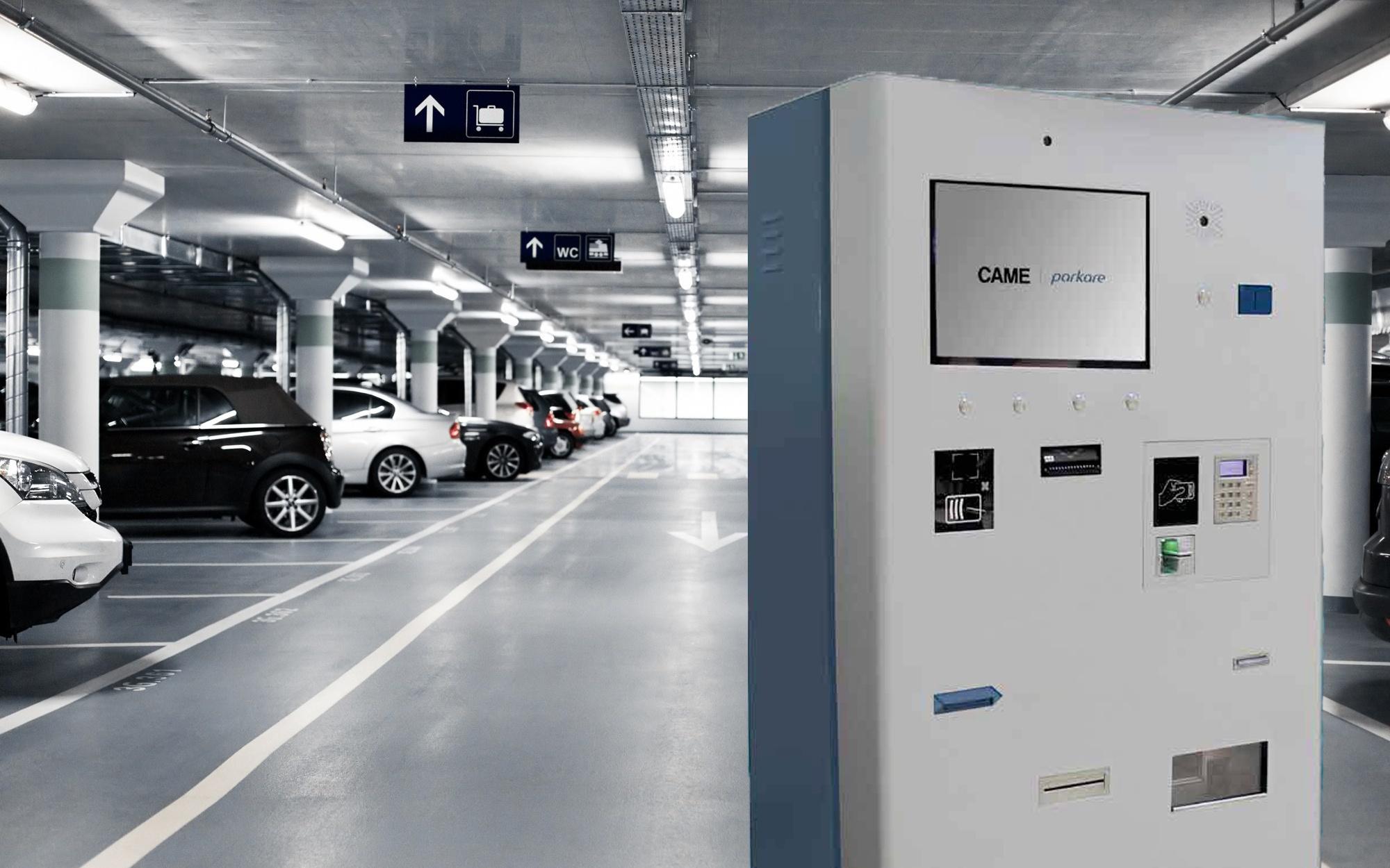 Автоматика для подземной парковки