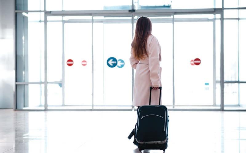 Автоматические двери для аэропортов и вокзалов