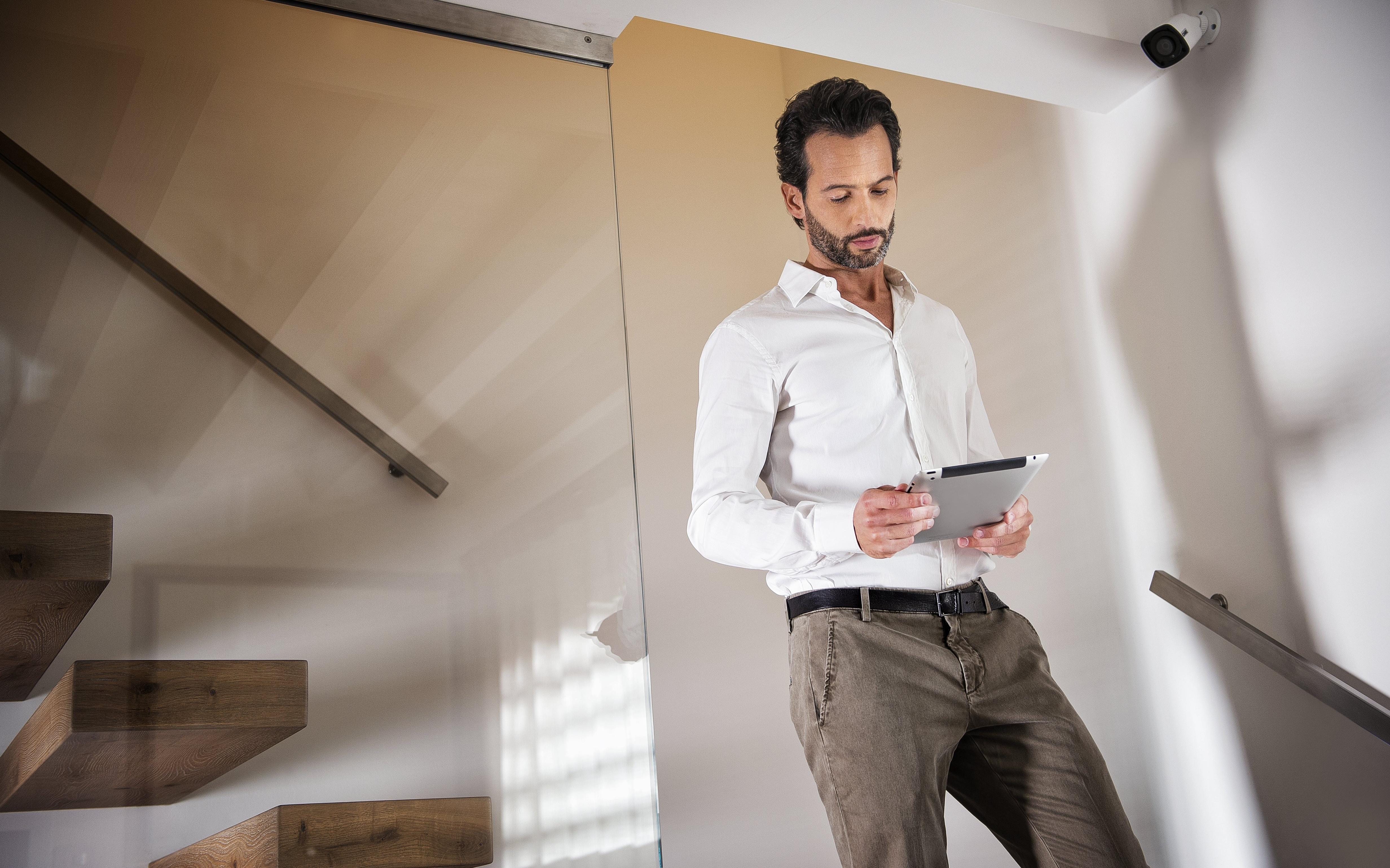 Управление домофоном с планшета