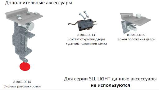 Система разблокировки и дополнительные аксессуары для автоматических дверей